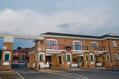Business Park Entrance Route 21 in Nelmapius drive